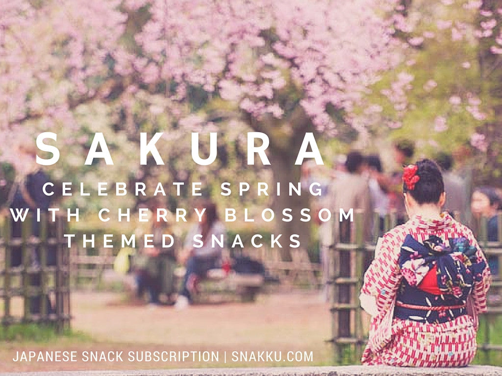Sakura Themed Snacks