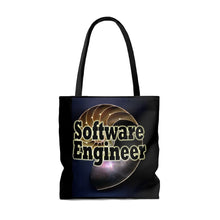 Load image into Gallery viewer, Software Engineer Nautilus Style Tote Bag
