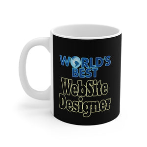 World's best Website Designer 11oz Mug