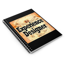 Load image into Gallery viewer, Experience Designer DaVinci Style Spiral Notebook