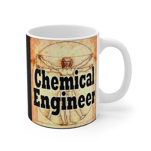 Chemical Engineer DaVinci Style 11oz Mug