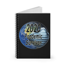 Load image into Gallery viewer, 2020 Pandemic Survivor Spiral Notebook