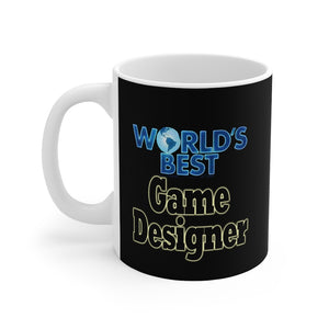 World's Best Game Designer 11oz Mug