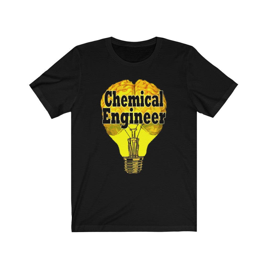 Chemical Engineer Brain Bulb Tee