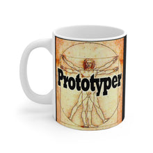 Load image into Gallery viewer, Prototyper DaVinci Style 11oz Mug