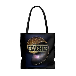 Teacher Nautilus Style Tote Bag