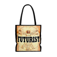Load image into Gallery viewer, Futurist DaVinci Style Tote Bag
