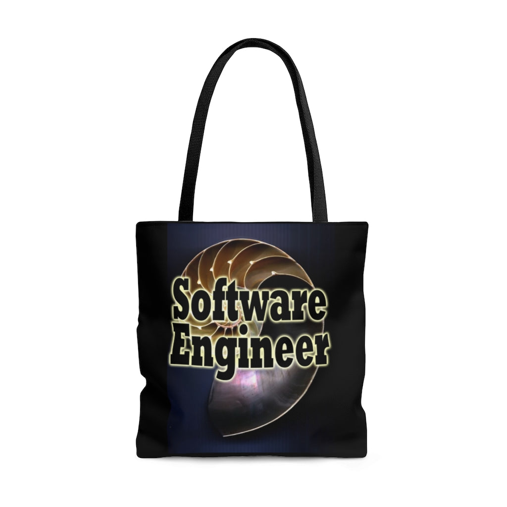 Software Engineer Nautilus Style Tote Bag
