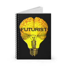 Load image into Gallery viewer, FUTURIST Spiral Notebook