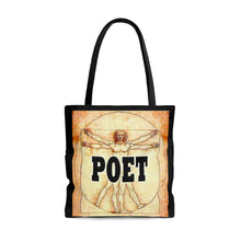 Load image into Gallery viewer, Poet DaVinci Style Tote Bag