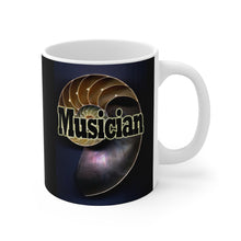 Load image into Gallery viewer, Musician Nautilus Style 11oz Mug