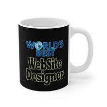 Load image into Gallery viewer, World's best Website Designer 11oz Mug