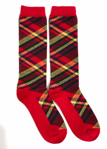 Men's Tartan in Red