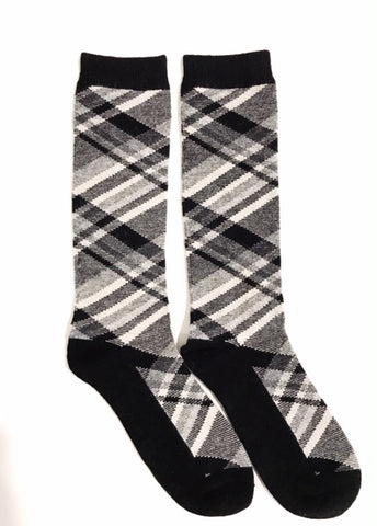 Men's Tartan in Black