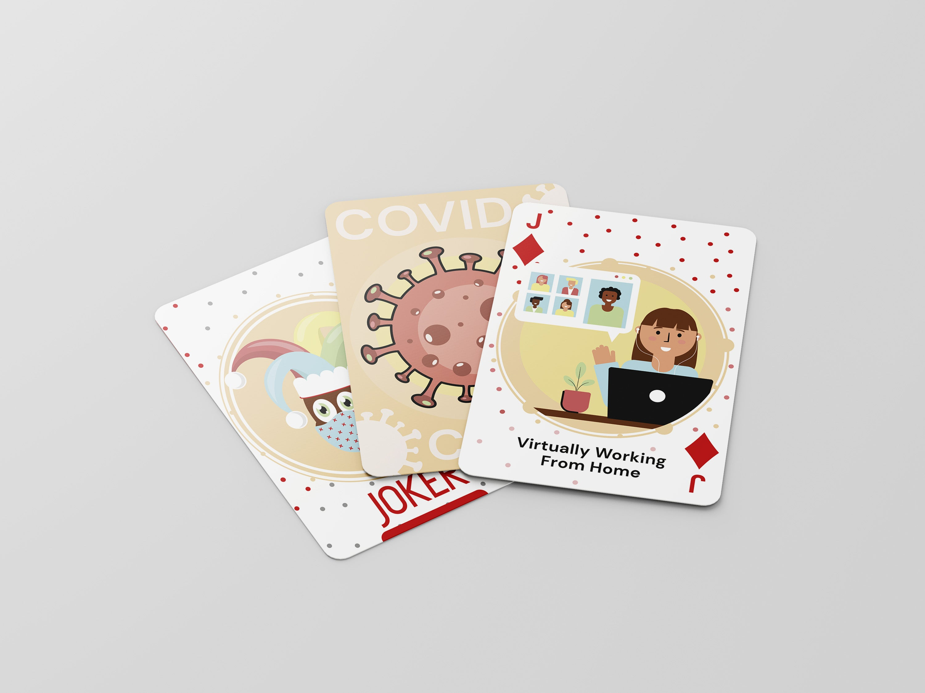 Covid Playing Cards