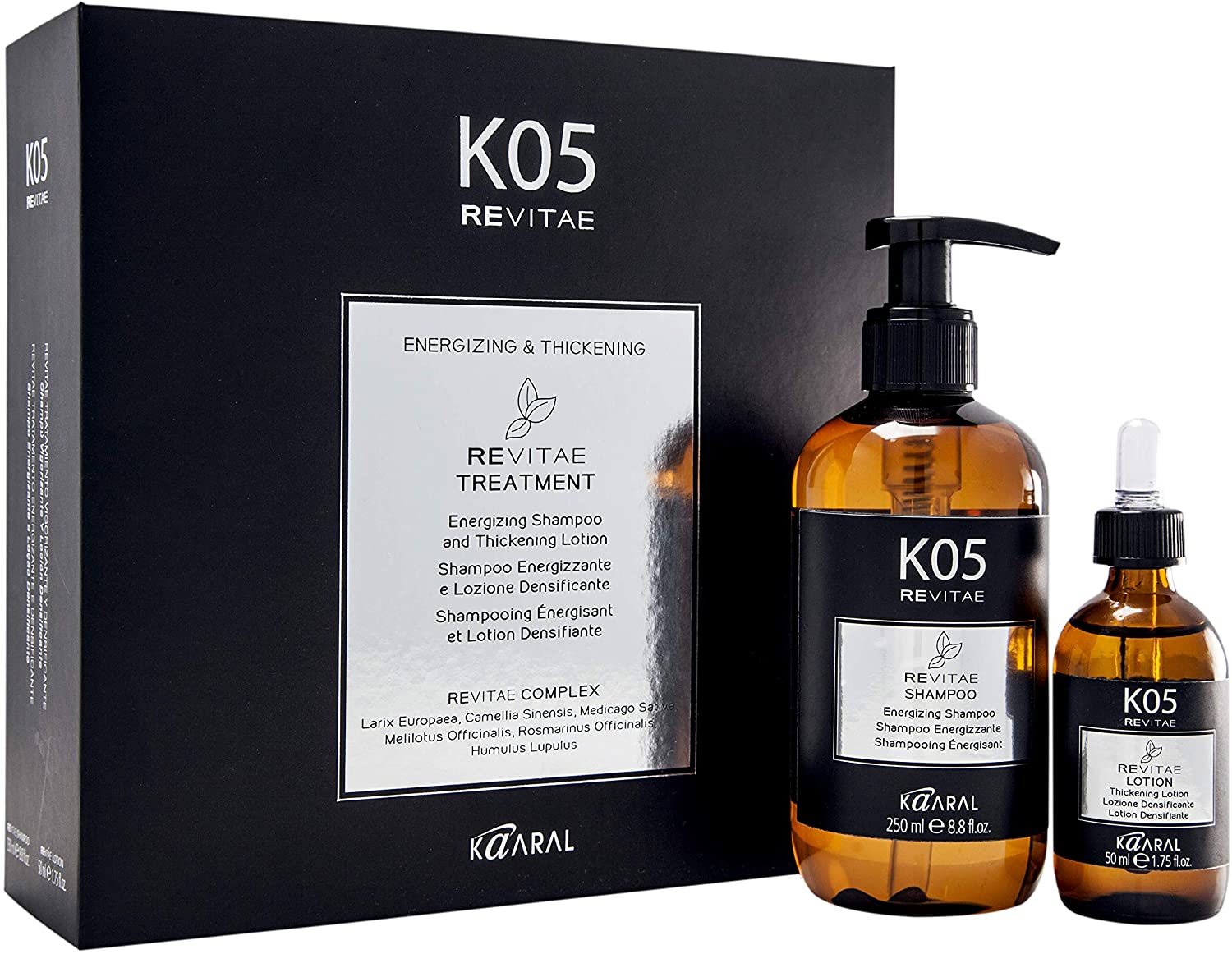 K05 REVITAE Energizing Shampoo & Thickening Lotion Set by KAARAL