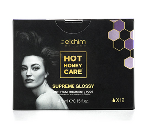 *NEW* HOT HONEY CARE Supreme Glossy (Anti-Frizz Formula) by ELCHIM