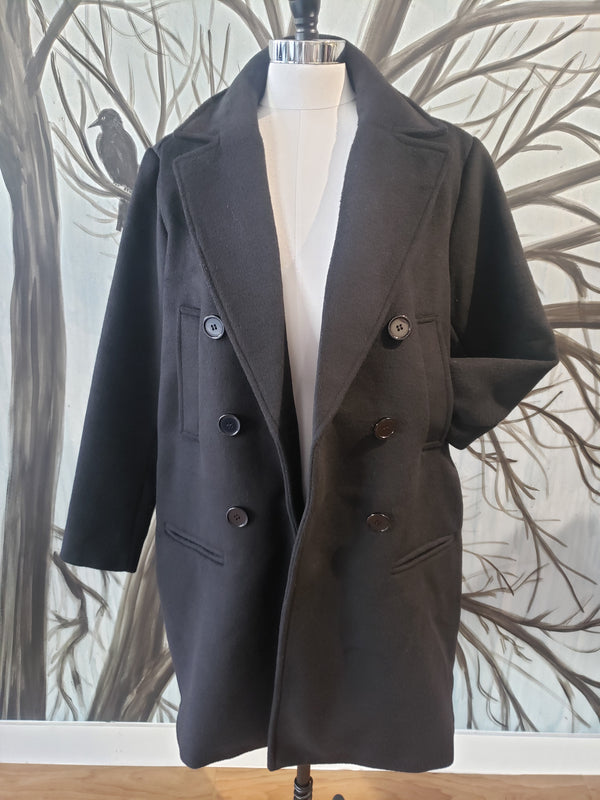 Aleia Double Breasted Coat