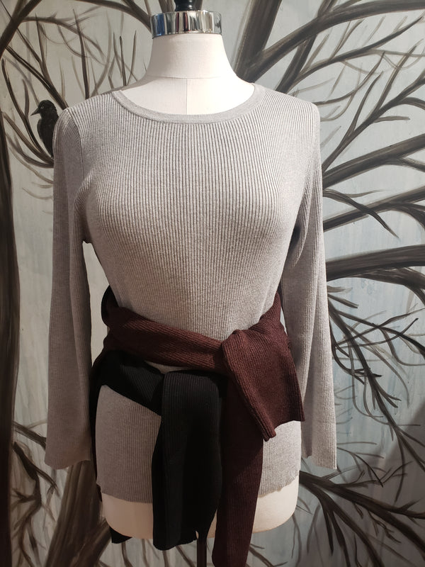 Ballet Neck Sweater