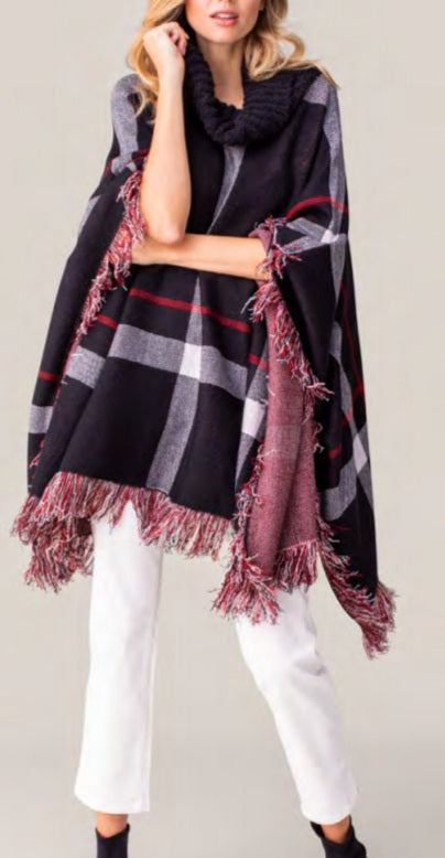 Kensington Road Poncho Style Sweater by Tribal