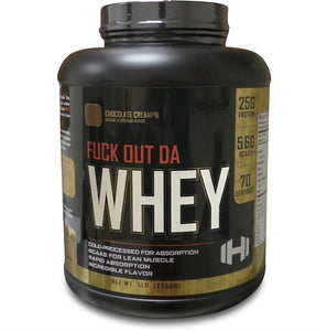 5lbs Fuck Out The Whey Protein