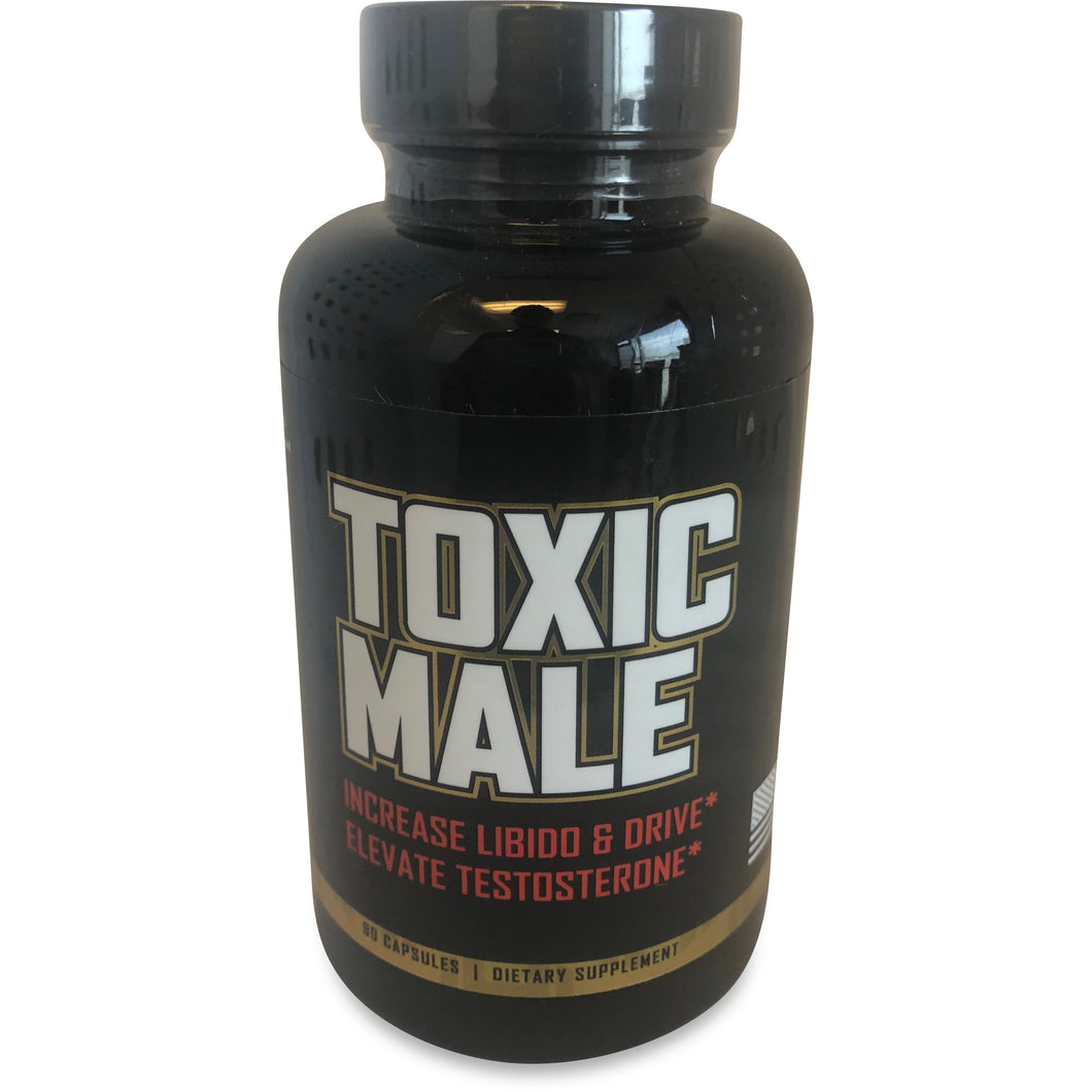 "Toxic Male ""Natural Testosterone Booster"""