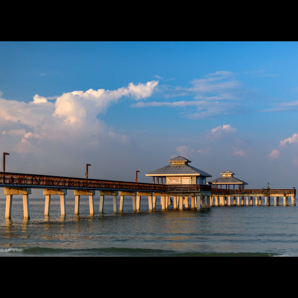 The fishing pier at Fort Myers Beach