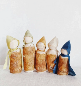 The Wood Folk- Family of 5
