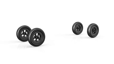 4 pc Raldey Board 195mm wheels