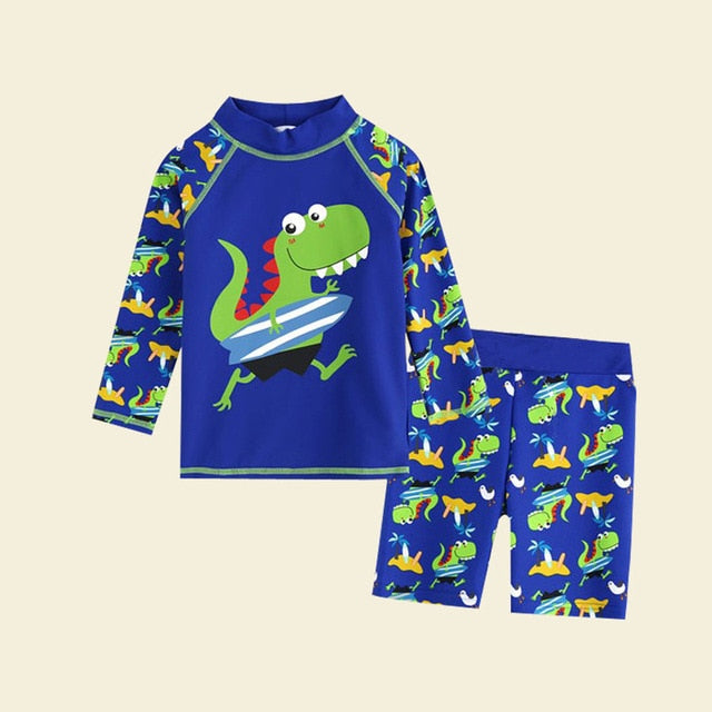 Two Piece Swim Suit Rash Guard for Boys or Girls