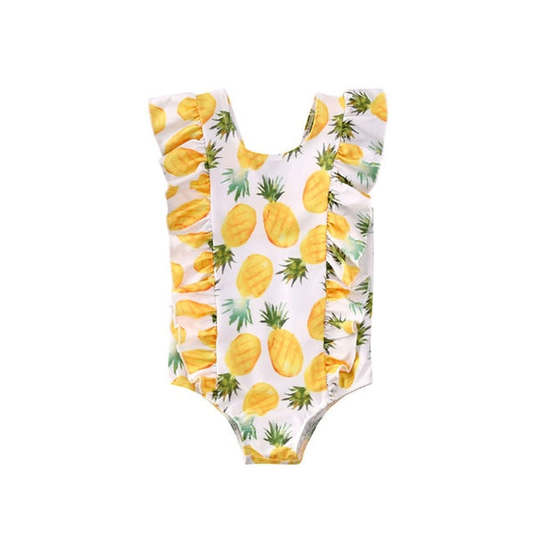 fun ruffle fruity one piece swimsuits