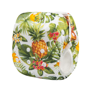 Pineapple Tropical Swim Diapers Reusable and Adjustable