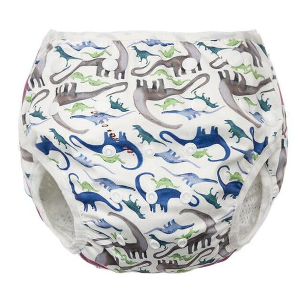 Animal and Floral Themed Reusable, Leakproof and Adjustable Swim Diapers