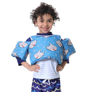Shark Puddle Jumper with Shoulder Straps (2-6 Years Old)