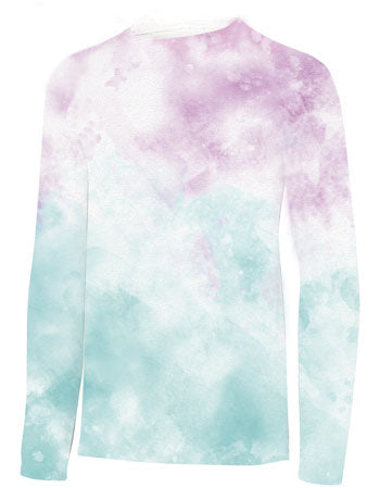 YOUTH UPF 50 Shirt- Tie-Dye Pink