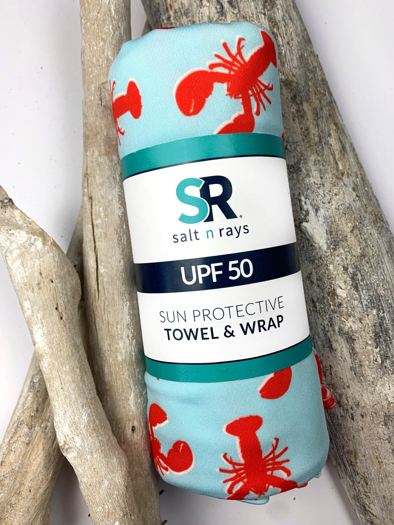 UPF 50 Towel/Wrap - Lobstah Land