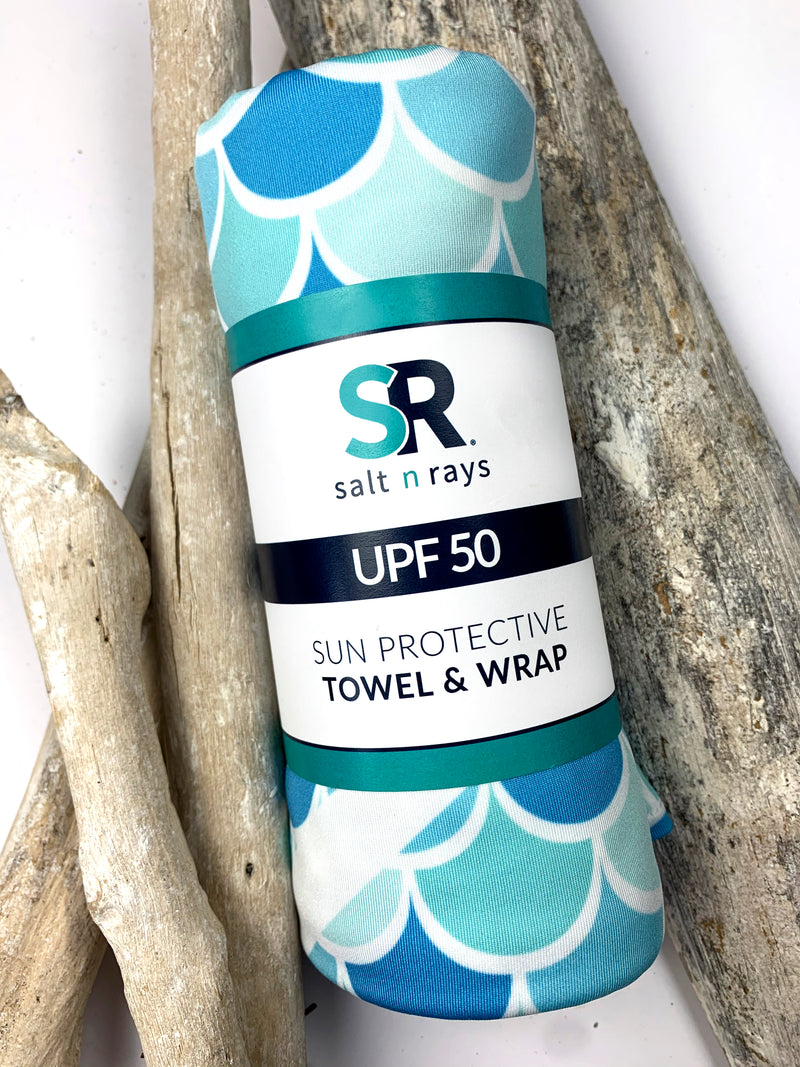 UPF 50 Towel/Wrap - Mermaiden