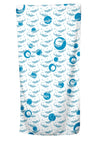 UPF 50 Towel/Wrap - Shark Frenzy