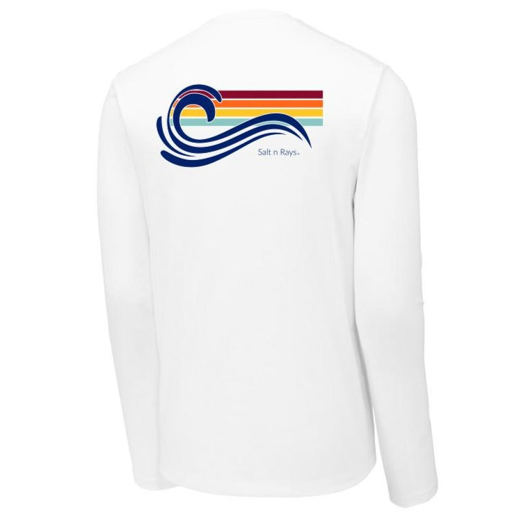 Unisex Long Sleeve UPF 50 Shirt - Wave
