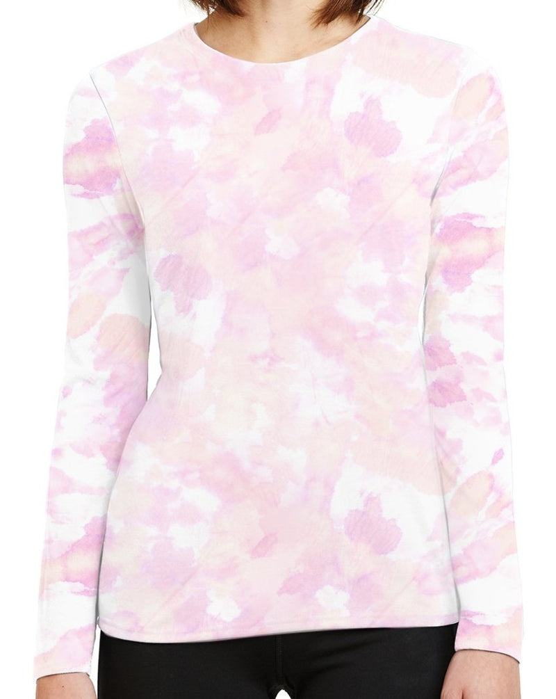 Woman's UPF 50 Shirt- Peach