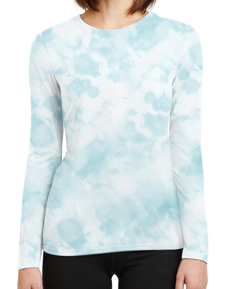 Woman's UPF 50 Shirt- Teal