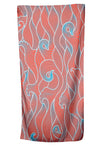 UPF 50 Sol Towel/Wrap - Peach Wave