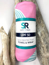 UPF 50 Towel/Wrap - Whales Tail