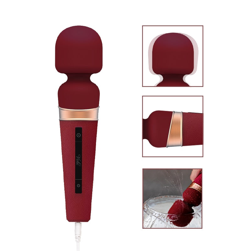 Wand massager with Touch screen control