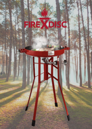 FireDISC Cooker and Accessories