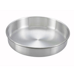 "8"" x 3"" Round Aluminum Cake Pan - Richard's Supply Inc"