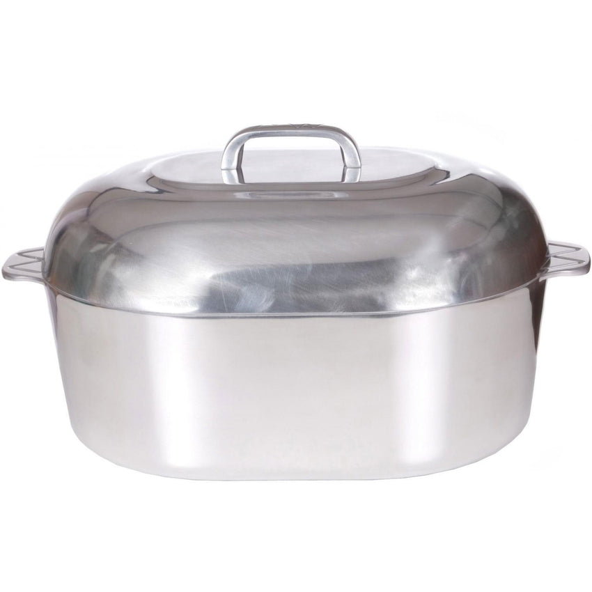 "15"" Oval Roaster, 12qt capacity - Richard's Supply Inc"