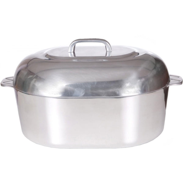 "15"" Oval Roaster, 12qt capacity"