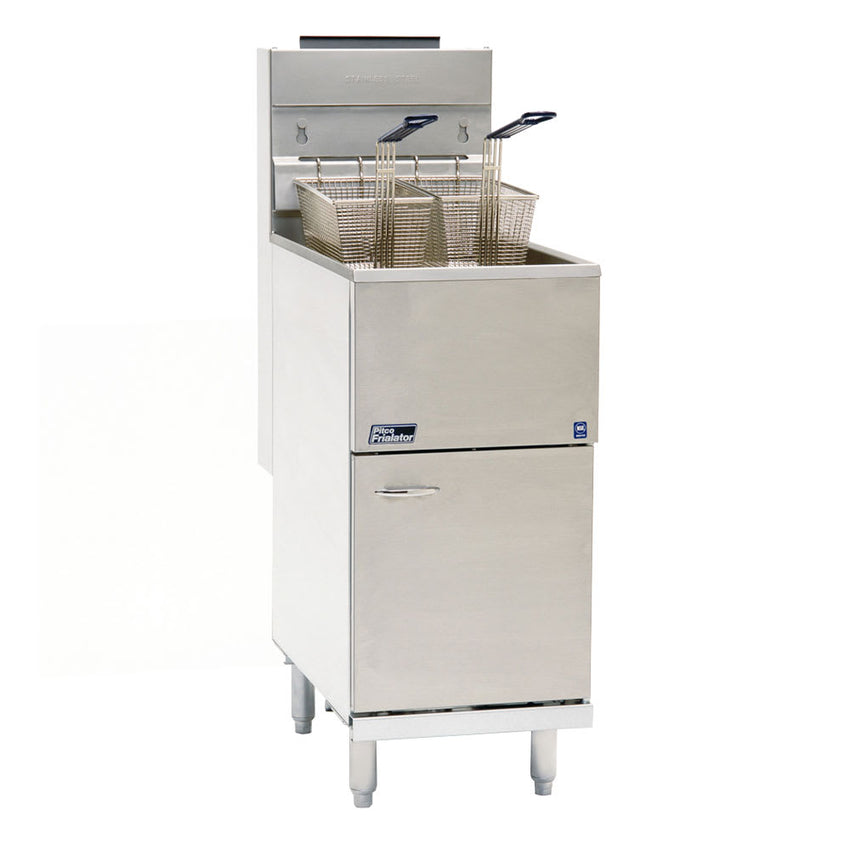 Pitco 35C+S Gas Fryer 40 lb Vat, Floor Model