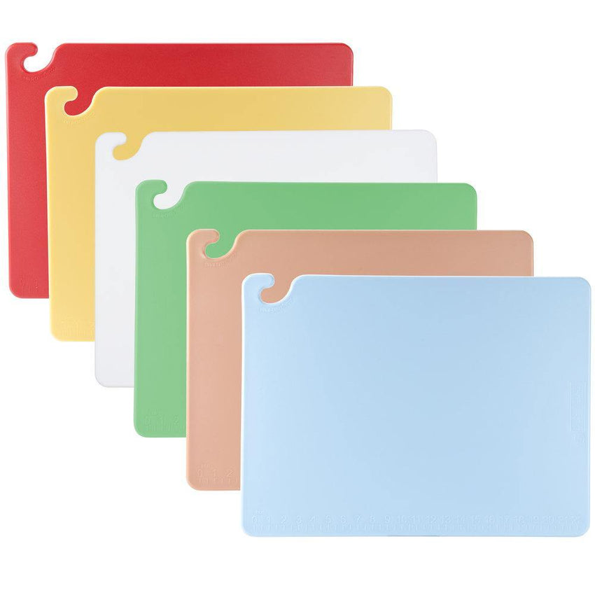 "Cut-N-Carry® Cutting Board Set w/ (6) Boards - 18"" x 24"", Assorted Colors"